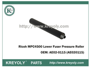 Custo-Saving Ricoh MPC4500 AE02-0115 Menor Rolo De Pressão Do Fusor